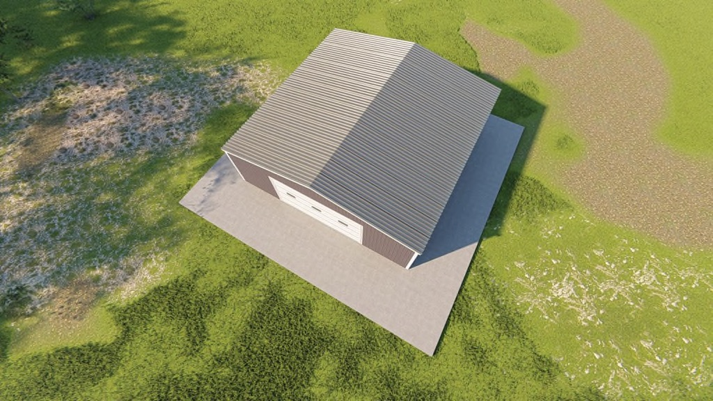 30x30 Metal Garage Kit: Get a Price for Your Prefab Steel Building
