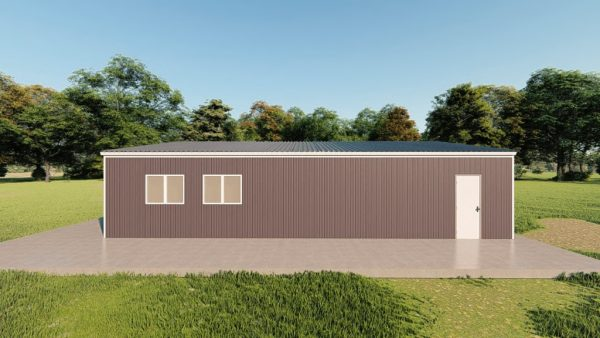 Garages 30x40 garage metal building rendering 5