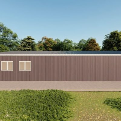 Garages 30x50 garage metal building rendering 5