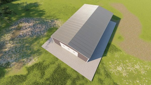 Garages 30x50 garage metal building rendering 6