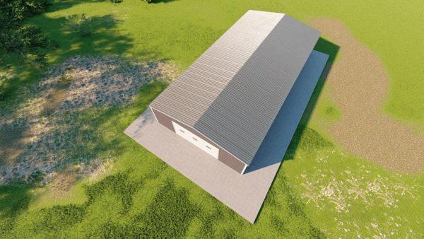 Garages 30x60 garage metal building rendering 6
