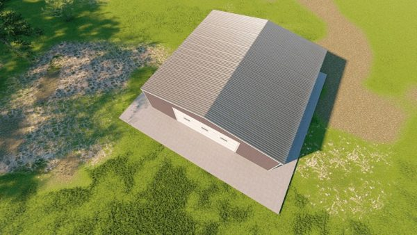 Garages 40x40 garage metal building rendering 6