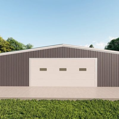 Garages 40x60 garage metal building rendering 2