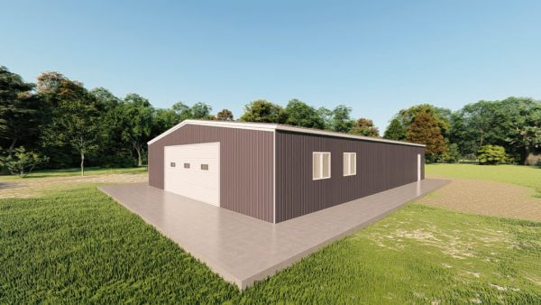 Garages 40x60 garage metal building rendering 3