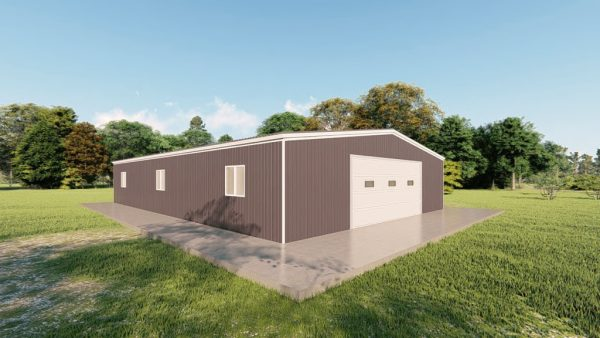 Garages 40x60 garage metal building rendering 4
