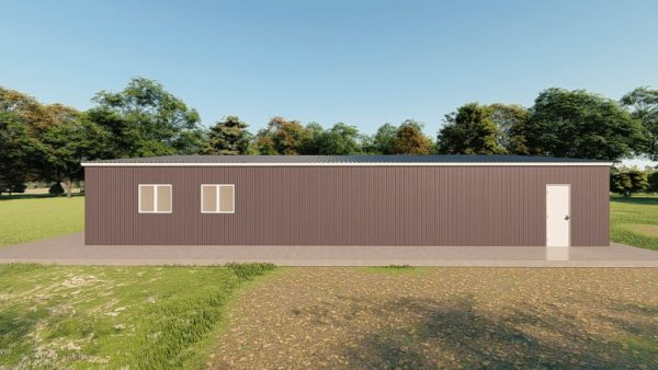 Garages 40x60 garage metal building rendering 5