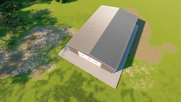 Garages 40x60 garage metal building rendering 6