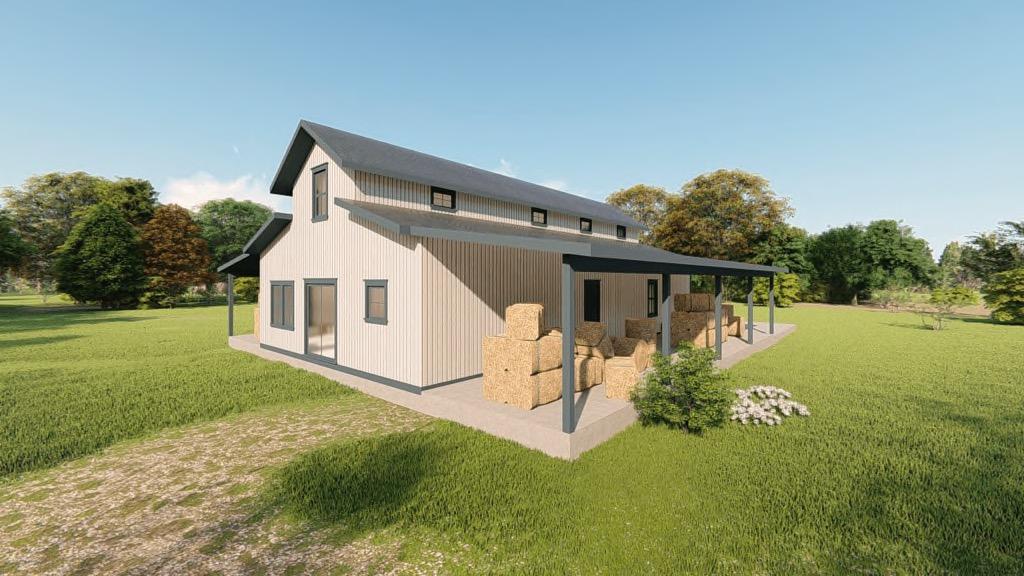 Metal Hay Storage Building Kits Steel Hay Barn Prices