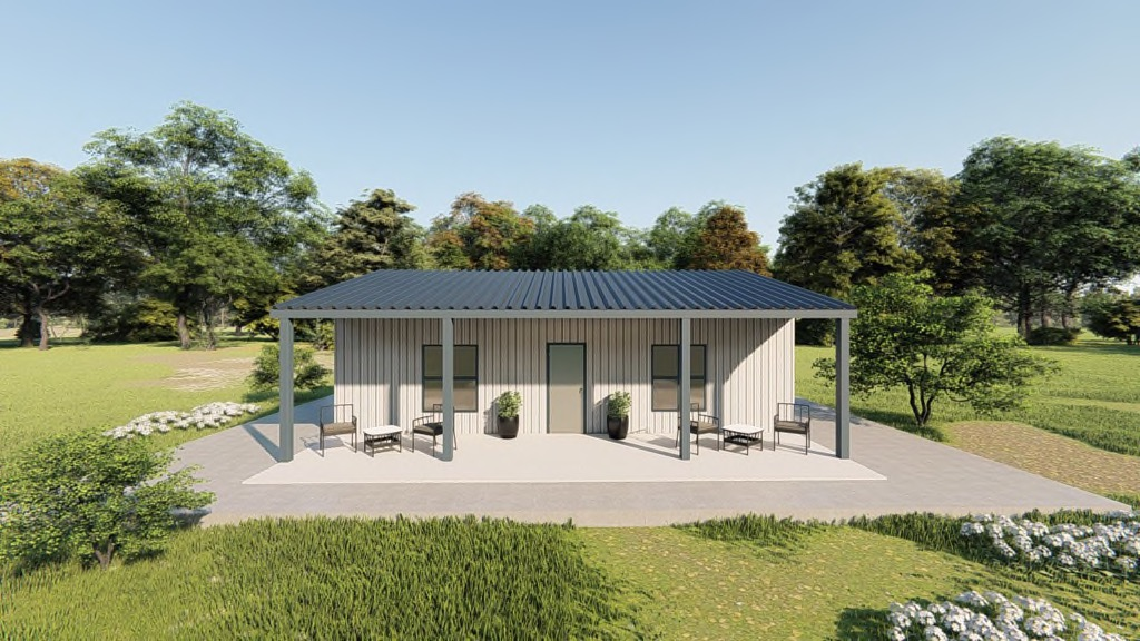 30x30 Metal Home Building Compare Steel House Prices