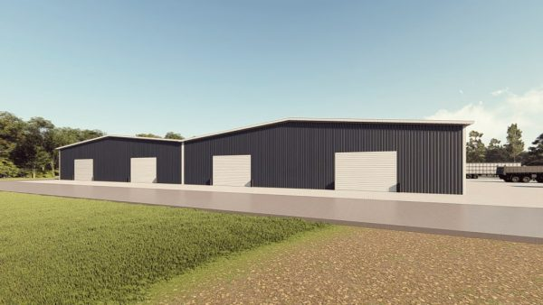 Manufacturing metal building rendering 1