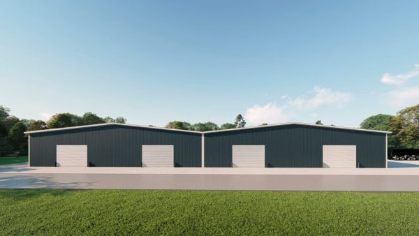 Manufacturing metal building rendering 2