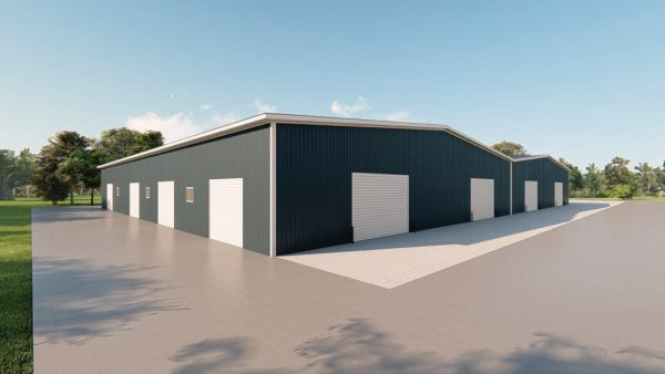 Manufacturing metal building rendering 4