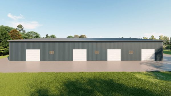 Manufacturing metal building rendering 5