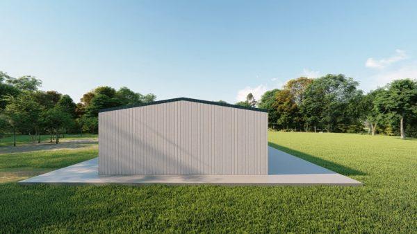 Mini storage 30x100 mini storage metal building rendering 2