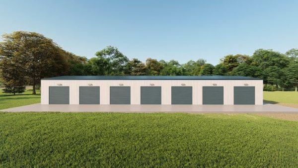 Mini storage 30x100 mini storage metal building rendering 5
