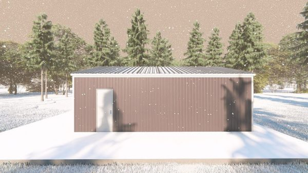Outbuildings metal building rendering 5