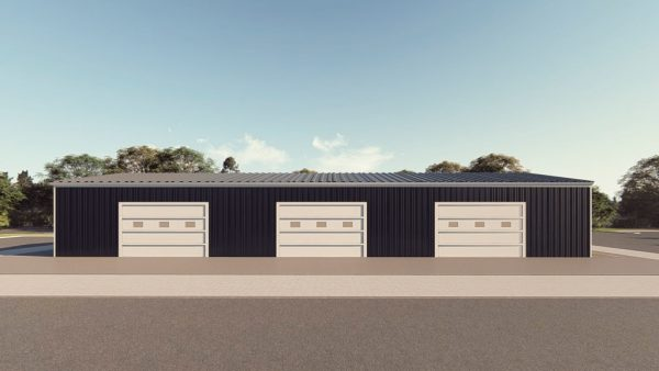 Workshop metal building rendering 1 1