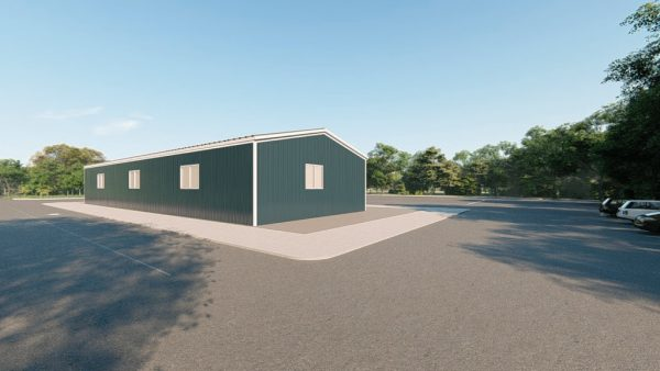 Workshop metal building rendering 4 1