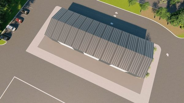 Workshop metal building rendering 6 1