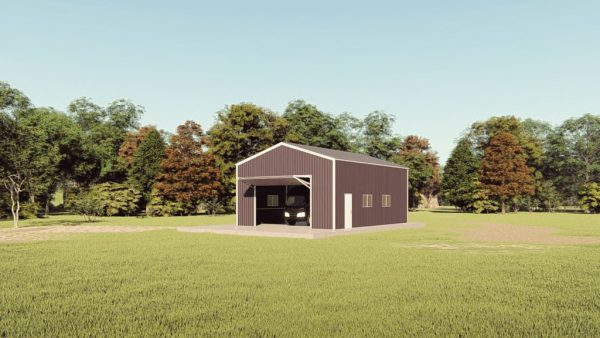 rv garages 26x36 metal building rendering 1