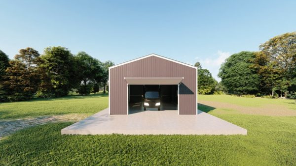 rv garages 26x36 metal building rendering 2