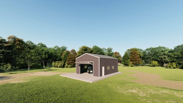 rv garages 26x36 metal building rendering 3