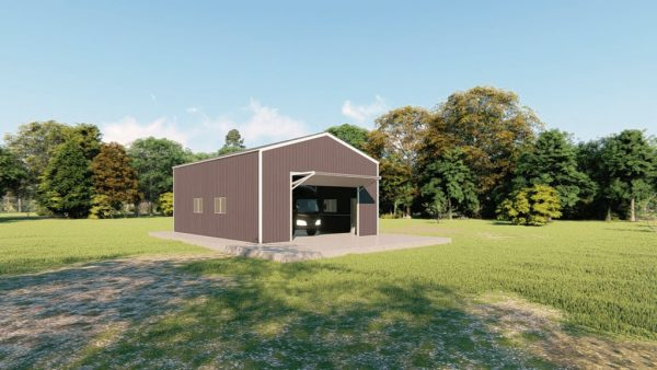rv garages 26x36 metal building rendering 4