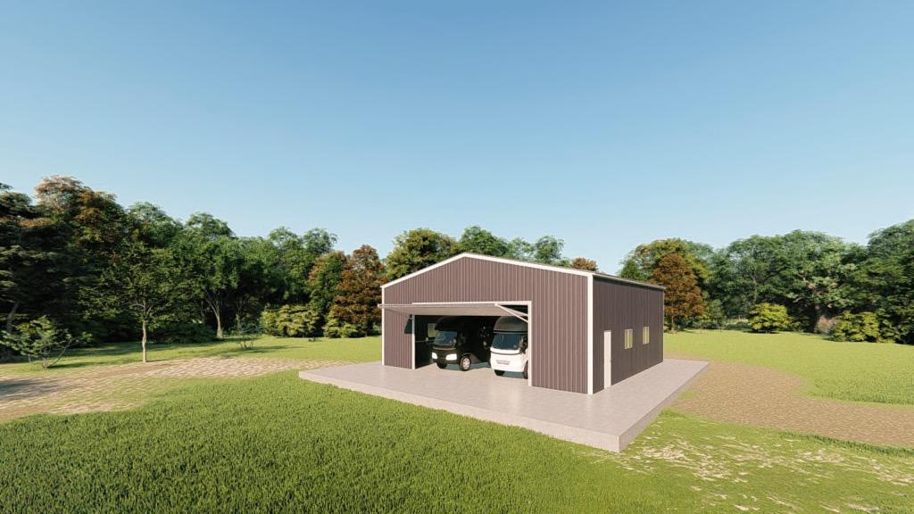 Garage Building Cost: 40x40 RV Garage Kit: Get A Price For Your Prefab Steel