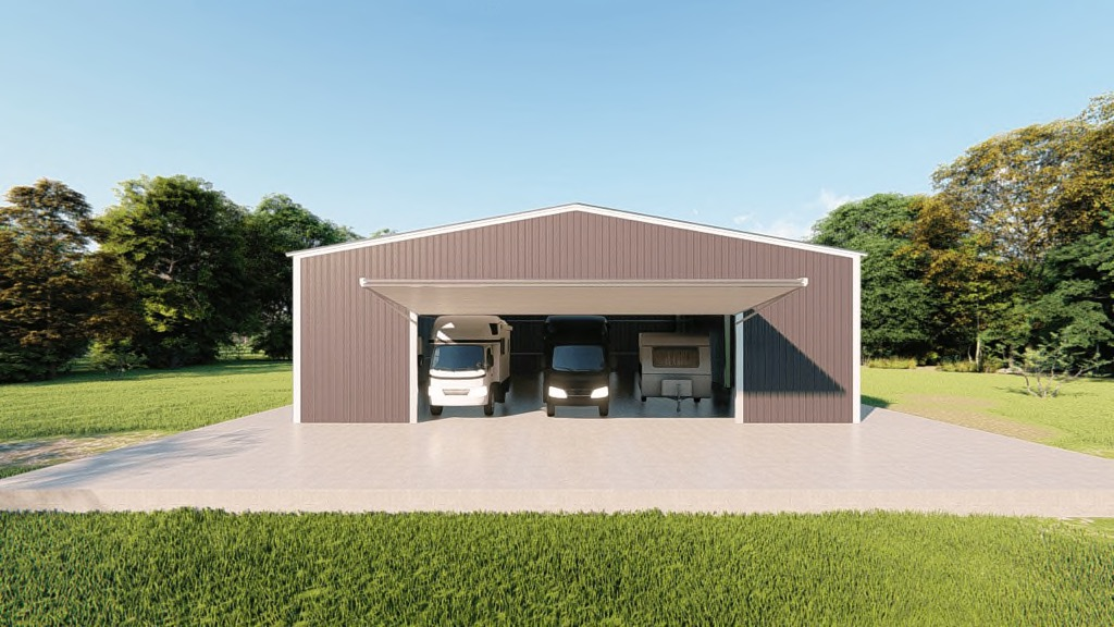 50x60 Rv Garage Kit Get A Price For Your Prefab Steel Building