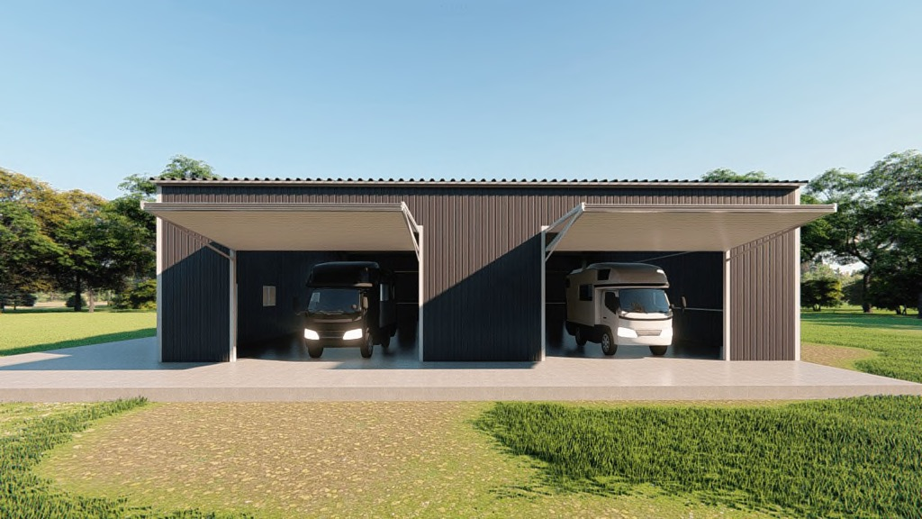 60x60 Rv Garage Kit Get A Price For Your Prefab Steel Building