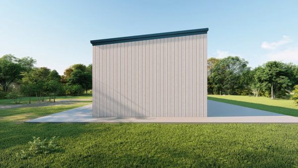 rv storage 40x200 enclosed metal building rendering 2