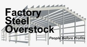 Factory Steel Overstock